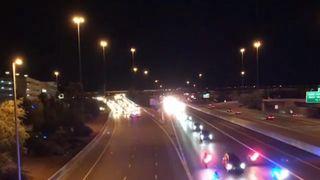 Motorcade for deceased senator John McCain draws crowds as it travels through Phoenix