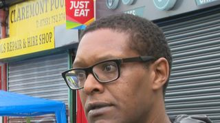 Local DJ Wayne Everett talks about Moss Side shootings.