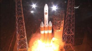 NASA have successfully launched their 'touch the sun' mission after a false start yesterday.