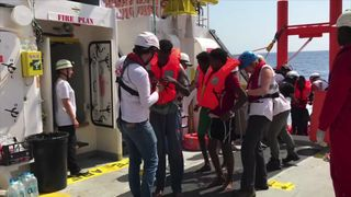 Spain has received the highest number of refugees and migrants attempting to reach Europe by sea this year