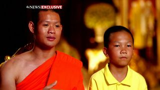 Thai boys and coach talk to abc news