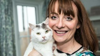 Theo saved Charlotte Dixon's life when she suffered a blood clot. Pic: Cats Protection