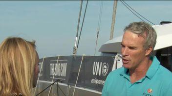 Lewis Pugh speaks to Sky News