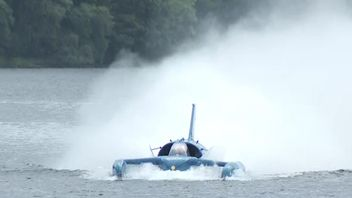 Bluebird flies again as her engine is switched on for the first time in 51 years