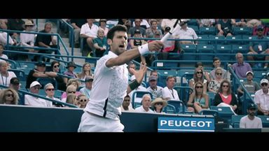 Route to Final: Djokovic