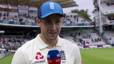 Woakes proud to be on Honours Board