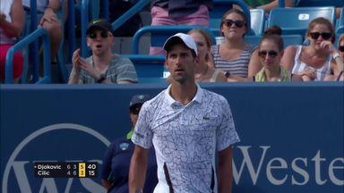 Djokovic v Cilic: Highlights