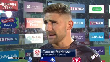 Makinson: We put pressure on ourselves