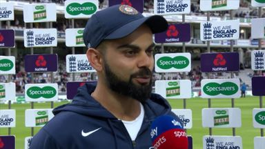 Kohli not proud of India performance
