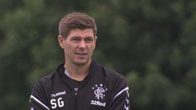 Gerrard only focused on Rangers