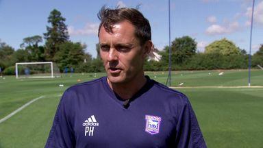 Paul Hurst on Ipswich challenge