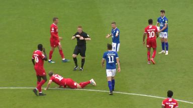 Tranmere's terrible red card!