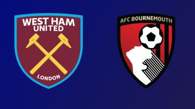 West Ham v Bournemouth