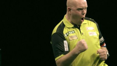 World Matchplay: MvG v De Zwann