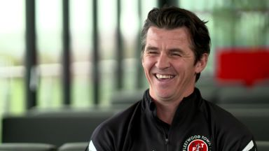 Joey Barton on life as a manager