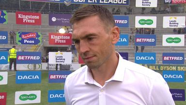 Sinfield: We'll take a lot from it