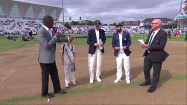 England v India T3: The Toss