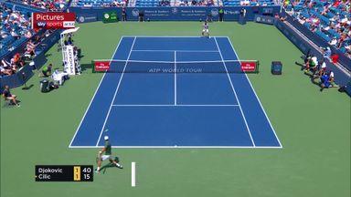 Djokovic, Federer highlights