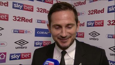 Lampard starting to 'feel good'