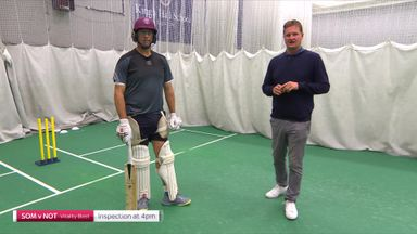 Trescothick demos playing spin
