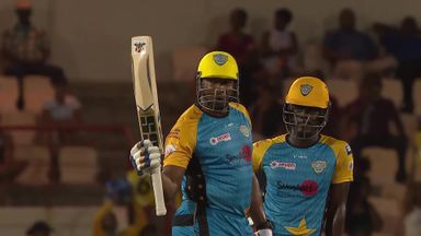 CPL: St Lucia v Barbados highlights