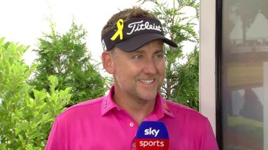 Poulter: I'm in position