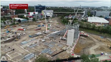 Bees-eye view: Brentford's new stadium