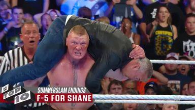 Top ten greatest SummerSlam endings