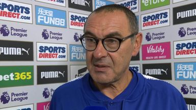 Sarri on 'difficult' Chelsea win