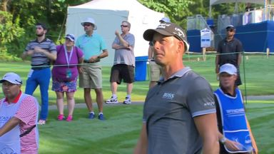 Stenson happy with 65