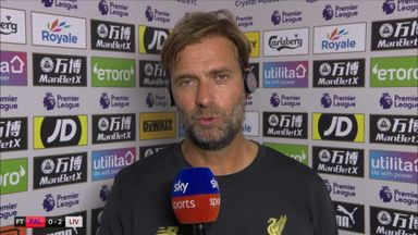 Klopp: Clean sheet very pleasing
