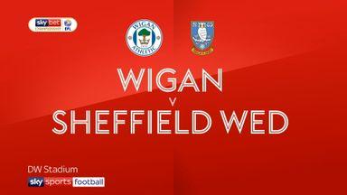 Wigan 3-2 Sheffield Wednesday