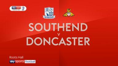 Southend 2-3 Doncaster