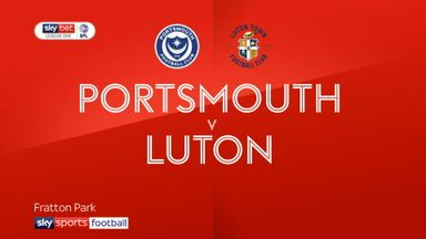 Portsmouth 1-0 Luton