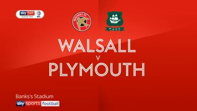 Walsall 2-1 Plymouth