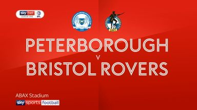 Peterborough 2-1 Bristol Rovers