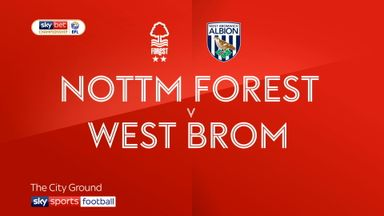 Nott'm Forest 1-1 WBA