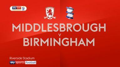 Middlesbrough 1-0 Birmingham