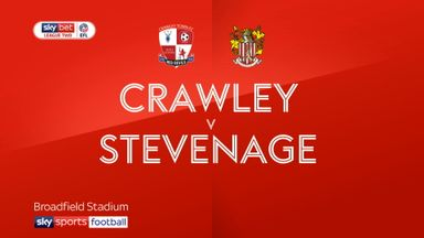 Crawley 1-3 Stevenage