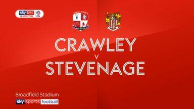 Crawley 1-3 Stevenage