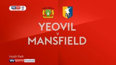 Yeovil 2-2 Mansfield