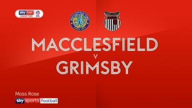 Macclesfield 0-2 Grimsby