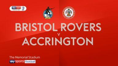 Bristol Rovers 1-2 Accrington
