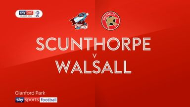 Scunthorpe 1-1 Walsall
