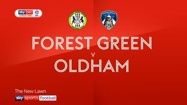 Forest Green 1-1 Oldham