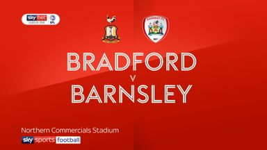Bradford 0-2 Barnsley