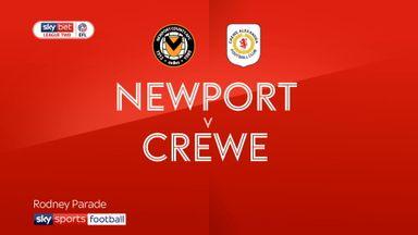 Newport 1-0 Crewe