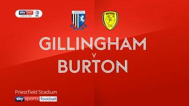 Gillingham 3-1 Burton