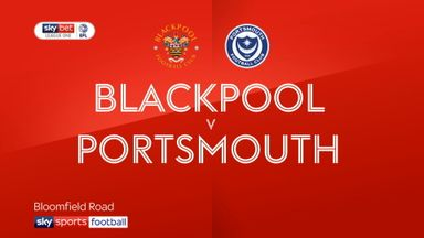 Blackpool 1-2 Portsmouth