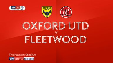 Oxford 0-2 Fleetwood
